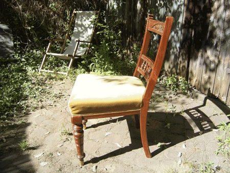 2 Stühle, Neorenaissance, um 1870/80, Nussbaum