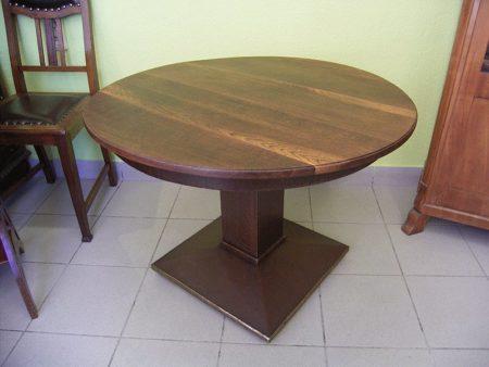 Tisch um 1930, Eiche