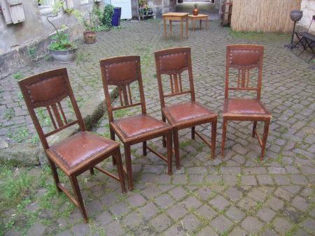 Stühle Vorher